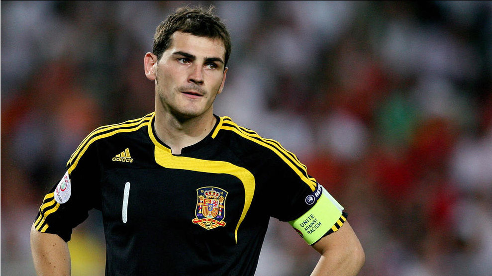 Image result for 2008: IKER CASILLAS