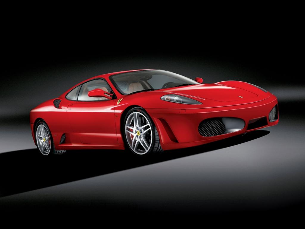 a Ferrari F430.