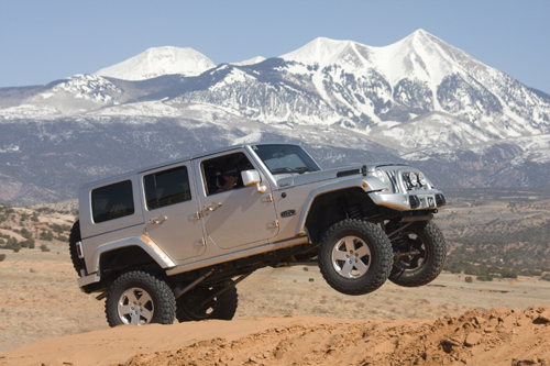 Emmet Cullen Jeep Wrangler