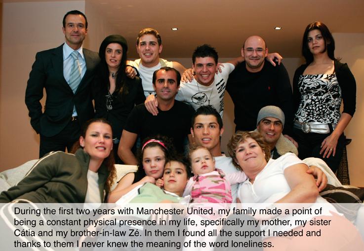 عائلة كريستيانو رونالدو