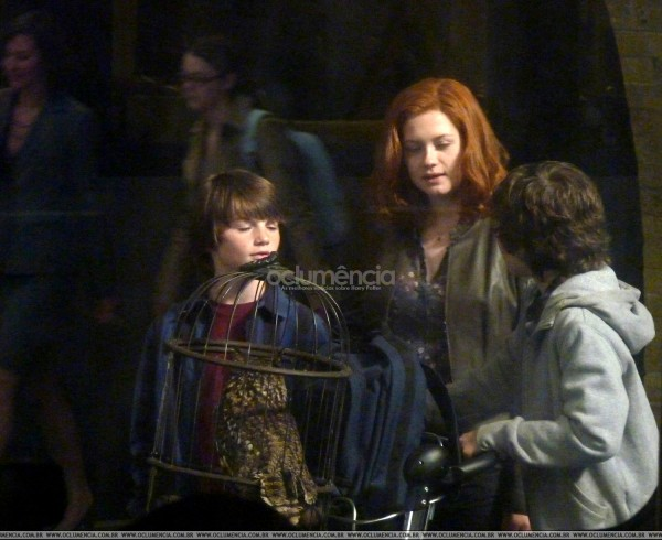 harry potter and the deathly hallows part 2 photos leaked. Ginny Potter, James Sirius and